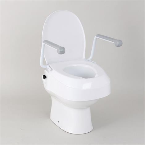 Homecraft Raised Toilet Seat with Arms,Raised Toilet Seat with Arms,Each,81703990