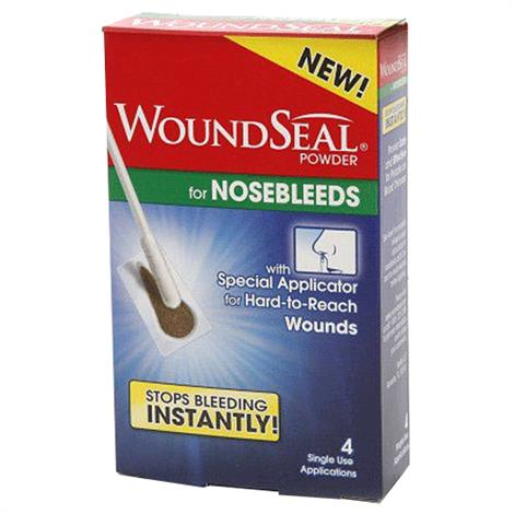 Biofilm Hemostatic Agent WoundSeal Powder for Nosebleeds,4 Single Use Applications,4/Pack,1199082