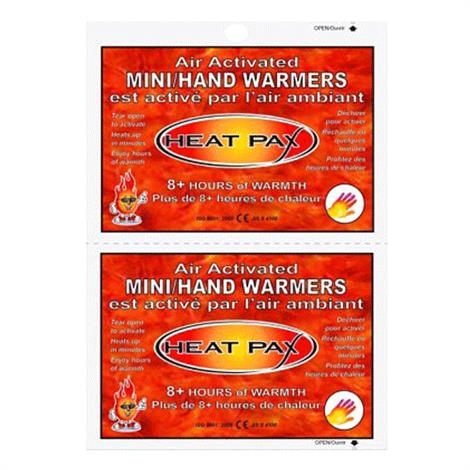 TechNiche HeatPax Air Activated Mini Hand Warmers,2