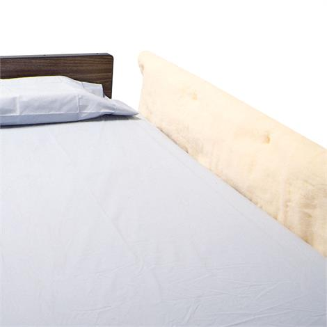 """Skil- Care Synthetic Sheepskin Bed Rail Pads,60""""L x 18""""W,Pair,402010"""