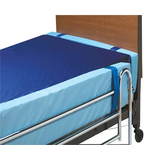 """Skil-Care Vinyl Gap Guard for Bed Rails,Full Side Rail- 70""""L,2 3/4"""" max thickness,Each,401310"""