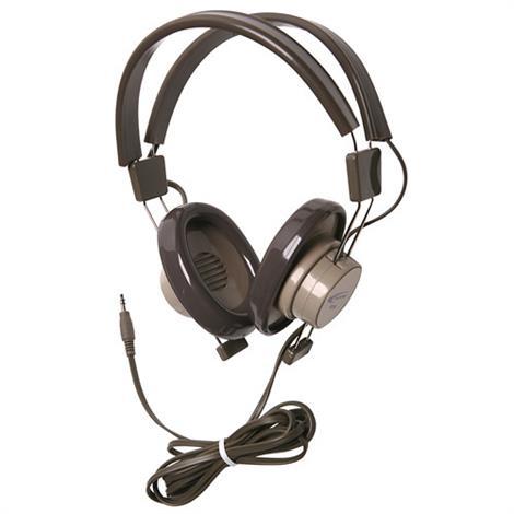 Califone 610 Binaural Headphones,Binaural Headphones,3/Pack,610-41