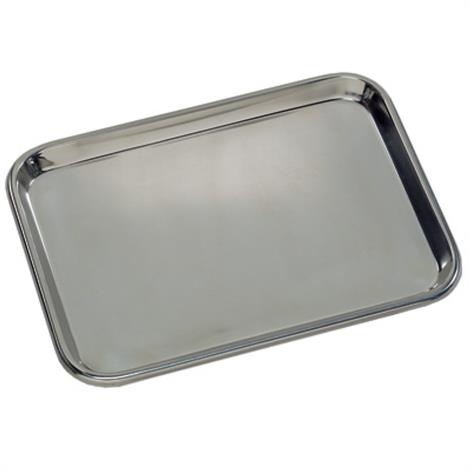 """Graham-Field Flat Type Instrument Trays,Stainless steel 13 5/8"""" x 9-3/4"""" x 5/8"""",Each,3261"""