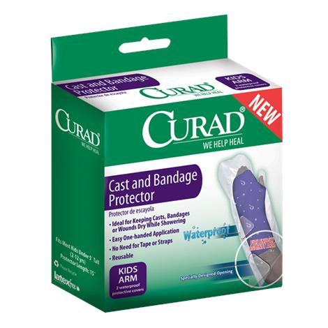Medline Curad Cast and Bandage Protectors,Adult Arm,6 Pair/Case,CUR200AAA