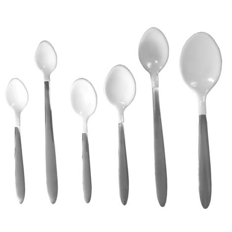 Plastisol Coated Spoons,Teaspoon, 5 3/4 x 1 1/4,Each,#847102000374