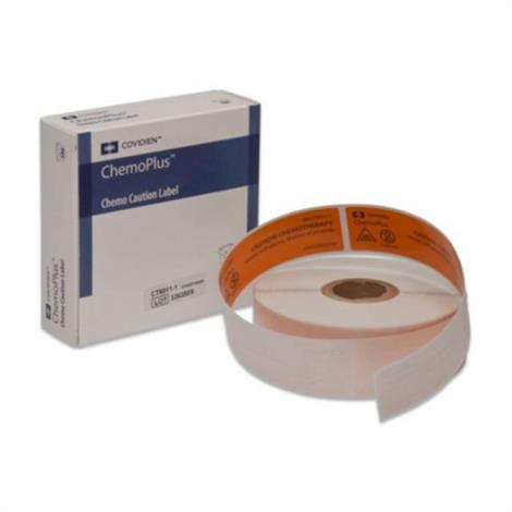 """Kendall Chemo Medical Labels,1"""" x 3"""",500/Pack,CT6011-1"""