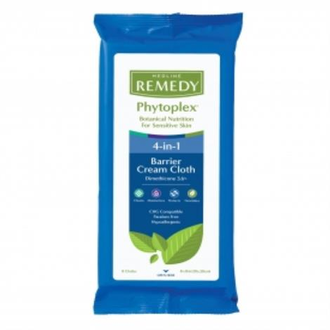 "Medline Remedy Phytoplex Dimethicone Skin Protectant Cloths,8"",Each,MSC092508H"