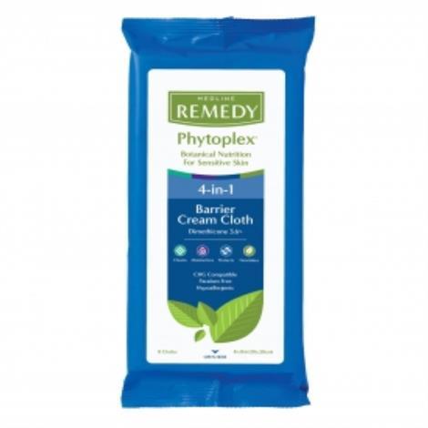 "Medline Remedy Phytoplex Dimethicone Skin Protectant Cloths,8"",Each,MSC092508H"