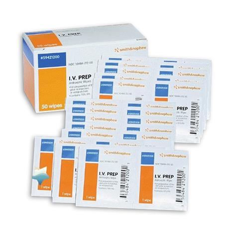 Smith & Nephew IV Prep Wipes,Sterile,50/Pack,59421200