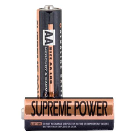 Supreme Pump Replacement Batteries,AAA Alkaline Battery for Monitor,2/Pack,SPAAAKAM