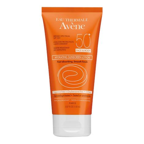 Avene Hydrating Sunscreen Lotion With SPF 50+,5.7oz,Each,C57301