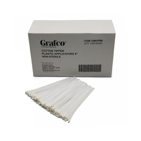 Graham-Field Cotton-Tipped Applicators,Applicators,1000/Box,1599-PN6