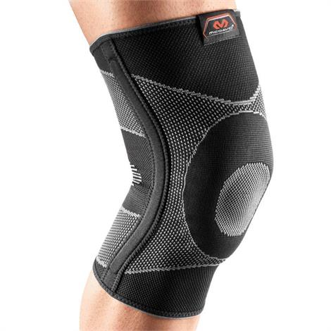 McDavid 5116 4-Way Elastic Knee Sleeve With Gel Buttress And Stays,Medium,Each,NC51160-2