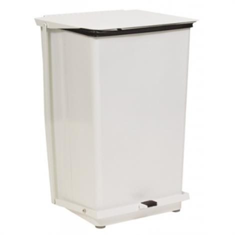 "Graham-Field Square Step-On Waste Receptacles,18""L x 18""W x 30""H,36 gallon,Each,8302"