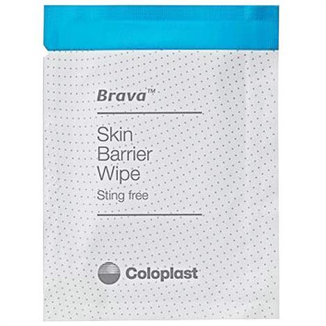 Coloplast Brava Ostomy Care Skin Barrier Wipes,Wipes,30/Pack,120215