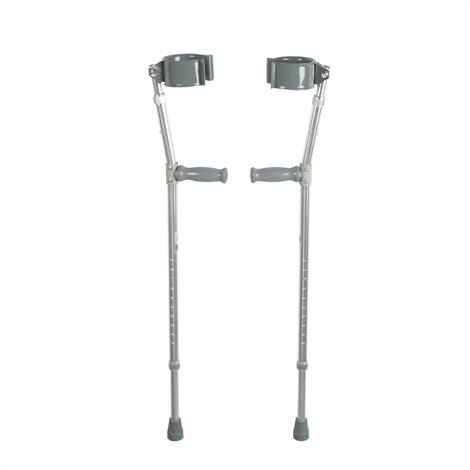 Drive Bariatric Steel Forearm Crutches,Adult,Pair,10403HD