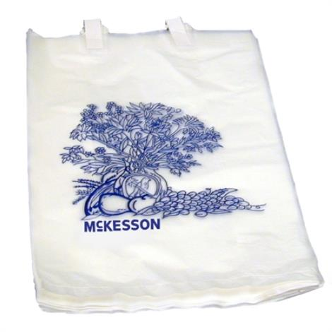 "McKesson Bedside Bag,White,7"" X 11-1/2"",2000/Case,16-9203"