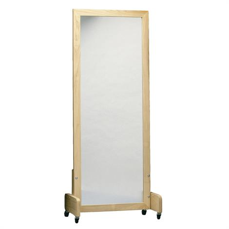 Bailey Adult Posture Mirror With Floor Stand And Casters,Adult Posture Mirror with Floor Stand and Casters,Each,700