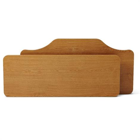 Medline Traditional Style Headboard and Footboard Set for Alterra Beds,Solar Oak Finish,1 Pair,FCE1232RHFQO2