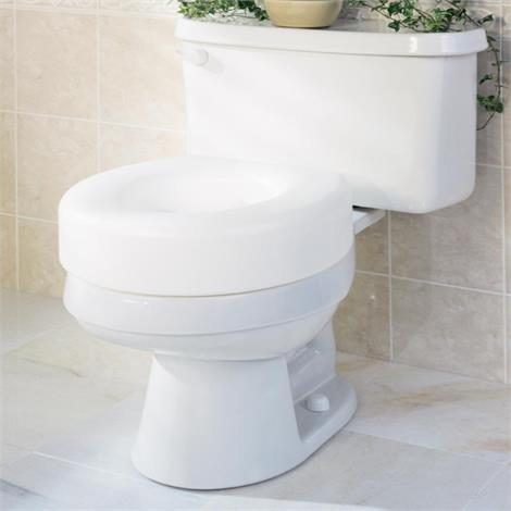 Medline Economy Raised Toilet Seats,Raised Toilet Seats,3/Case,G30250