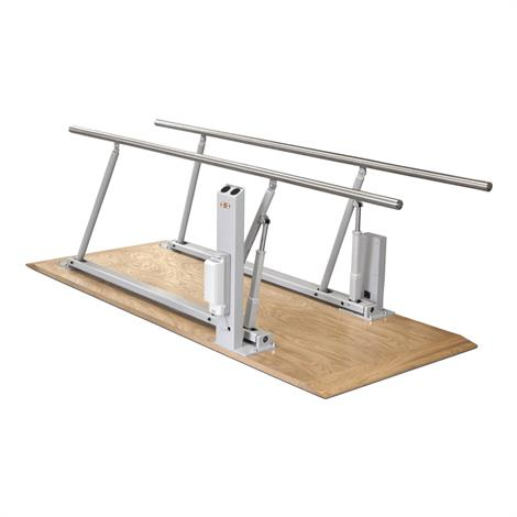 """Hausmann Electric Height And Width Parallel Bars,10ft L x 17"""" to 31""""W x 24"""" to 40""""H,Each,1357"""