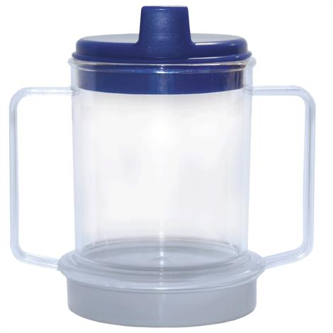 Clear Cup With Handles,Standard,Each,#847102001159