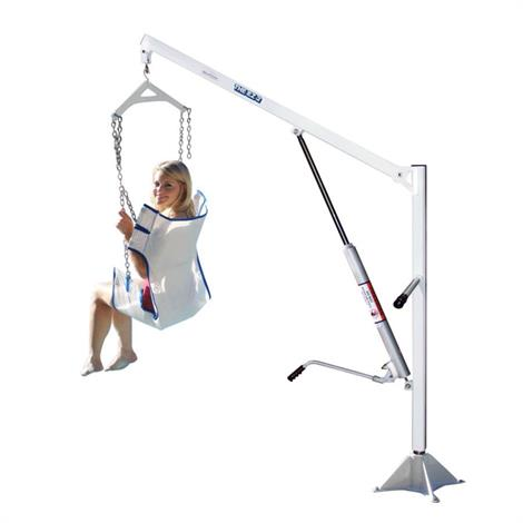 "Aqua Creek Pool Lift Slings,Sling with Bars,Youth with Seat Belt (34""L X 18""W),Each,F-360YSLSB"