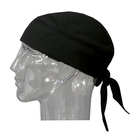 TechNiche Hyperkewl Evaporative Cooling Skull Caps,Black,Each,6536