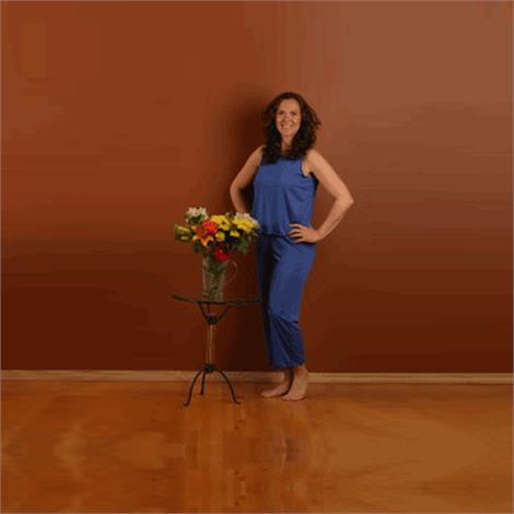 Haralee Christy Style Wicking Capri Pajamas,Large,Each,Haralee1124l