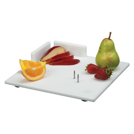 """Waterproof Cutting Board With Aluminium Food Spikes,Large,11"""" Square,Each,NC28505"""