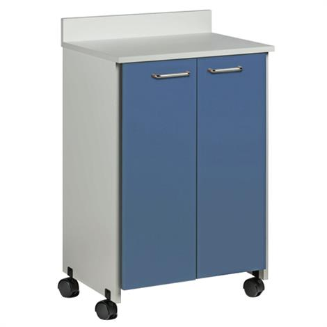 Clinton Mobile Treatment Cabinet with Two Doors,0,Each,8902