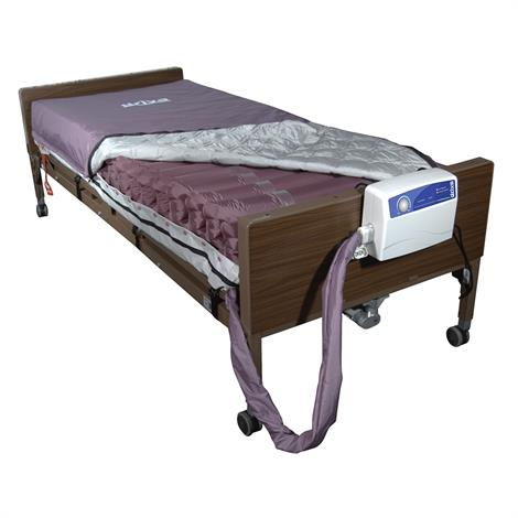 "Drive Med-Aire Alternating Pressure Pump and Mattress Replacement System with Low Air Loss,36""W x 80""L x 8""H,Each,14027"