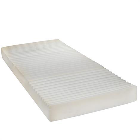"Drive Therapeutic 5 Zone Pressure Reduction Support Foam Mattress,80""L x 36""W x 6""H,Each,15019"