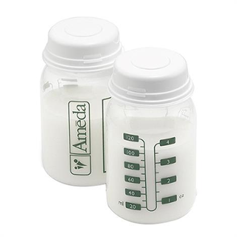 Ameda Evenflo Breast Milk Storage Bottles,Breast Milk Storage Bottles,2/Pack,17253