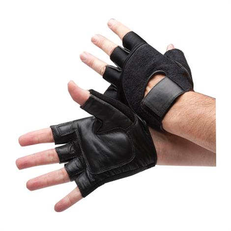 """FLA Safe-T-Glove Vibration Dampening Gloves,Small,Fits Palm: 3"""",Pair,71-610SMBLK BSN71-610440"""