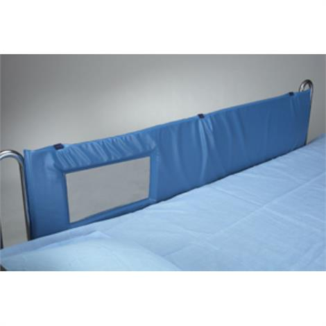 """Skil-Care Bed Rail Pads,72""""L x 15""""H,Large Window (169 square inch),Pair,401047"""