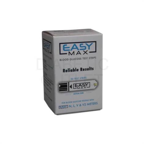 Oak Tree EasyMax Test Strips,Test Strips,50/Pack,704052500
