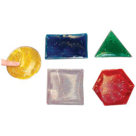 FlagHouse Glitter Gel Shapes,Each Shape Measures 6,5/Pack,37607