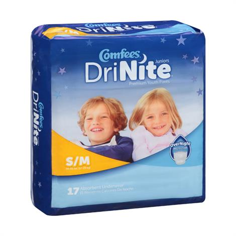 Attends Comfees Drinite Youth Pants,Medium/Large,14/Pack,4Pk/Case,CMFYM