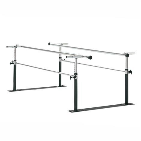 Bailey Folding Steel Base Parallel Bars,7ft Long,Each,BB9957