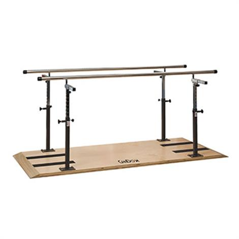 CanDo Platform Mounted Parallel Bars,Length- 10',Each,15-4240