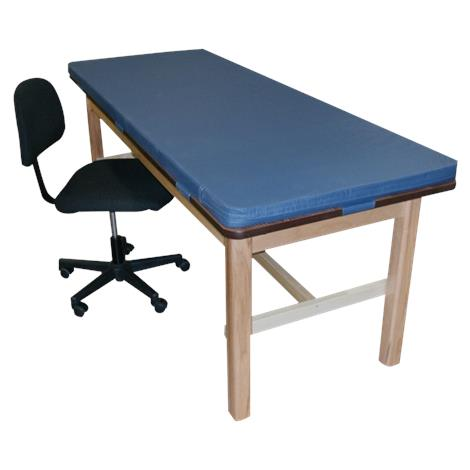 Bailey Classroom H-Brace Treatment Table With Removable Mat,Am Beauty,Each,BM487