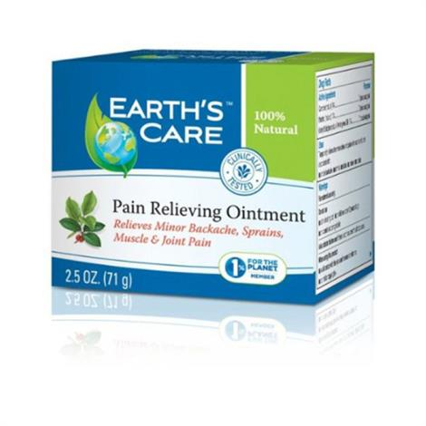 Image of Earths Care Pain Relieving Ointment,Relieving Ointment,2.5 Oz,Each,ECW1216159