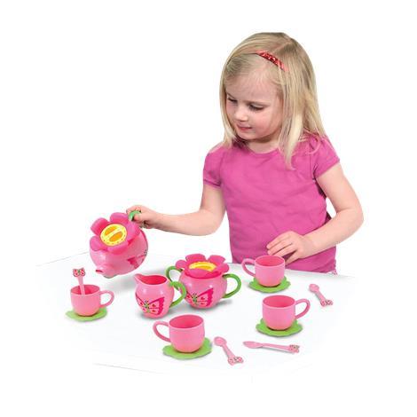Melissa & Doug Bella Butterfly Pretend Play Tea Set,45.5 x 12 x 4.5,Each,6181