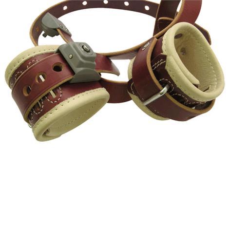 Humane Restraint Ambulatory Locking Wrist-Waist Restraint Belt,Leather,Weight: 5oz,Each,MND-101