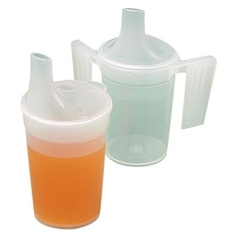 Polypropylene Plastic Feeding Cup With Long Spout,Standard Feeding Cup,Each,NC35254 NCMNC35254