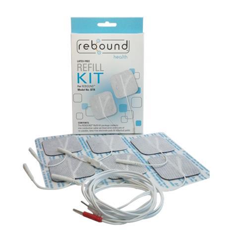 BioMedical Rebound TENS Unit Refill Kit,Refill Kit,18/Pack,SBTR200C