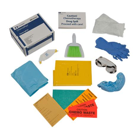 Covidien Kendall ChemoBloc Latex Spill Kit,Home Health Spill Kit,24/Case,DP5108K