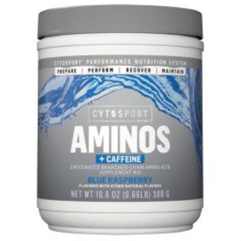 Cytosport Aminos + Caffeine Dietary ,10.6oz, Grape Blast, 25 Srv,Each,502170