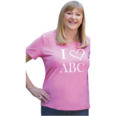 ABC Casual T-Shirt,Casual T-Shirt,Large,Each,CLO1003-L